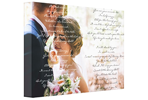 Personalized Canvas Art Couples Gifts