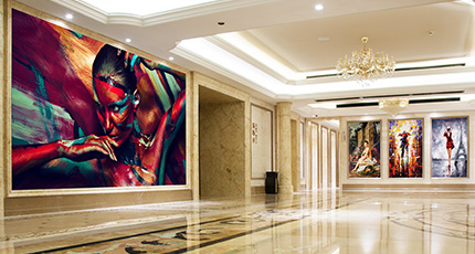 Luxury lobby - Luxury lobby Wall Art