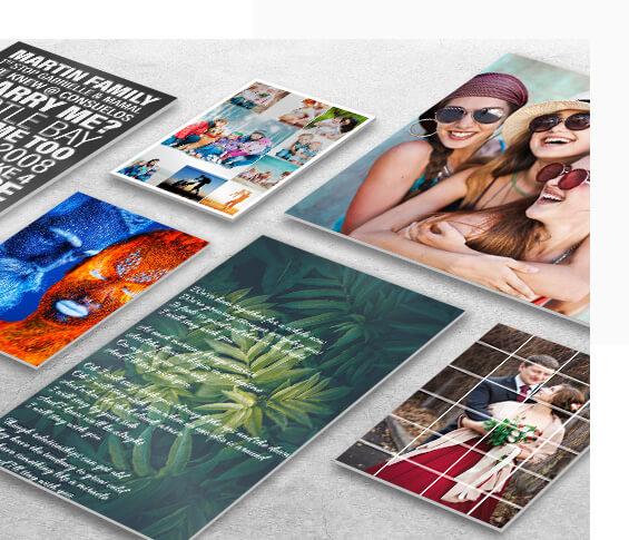 Gleaming Custom Metal Prints
