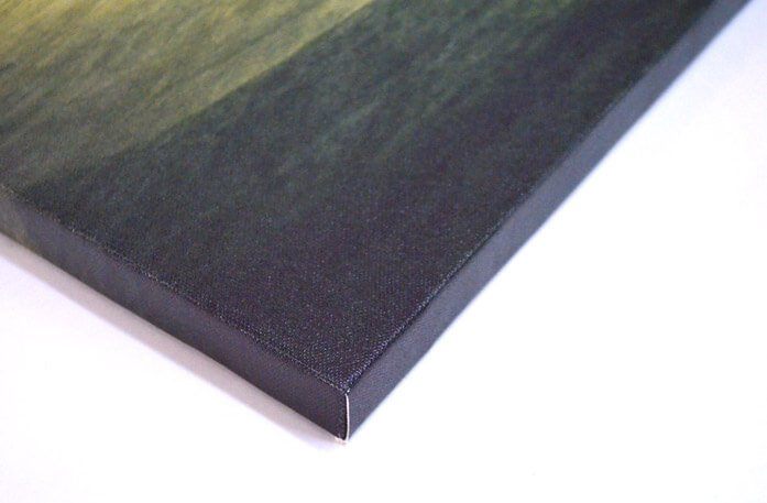 Gallery wrapped Canvas Prints with 0.75 Stretcher Bars