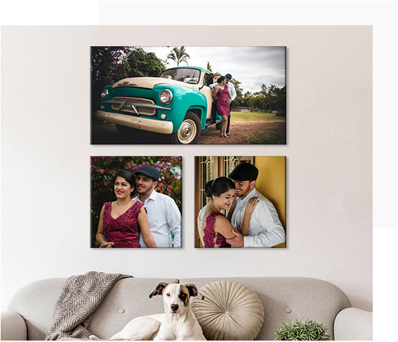 Custom Wrapped Canvas Prints-The Beauty is in the Print