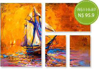 FLAT 20% Off on Split Canvas prints