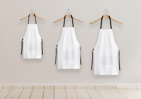 Pick the Right Size for Your Custom Apron