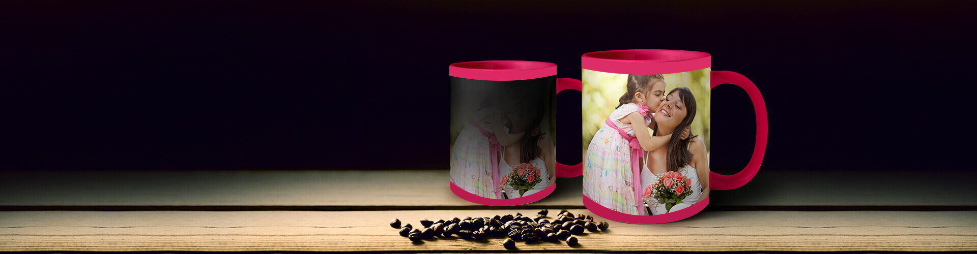 Promote Happiness Every Morning With Photo Magic Mugs!