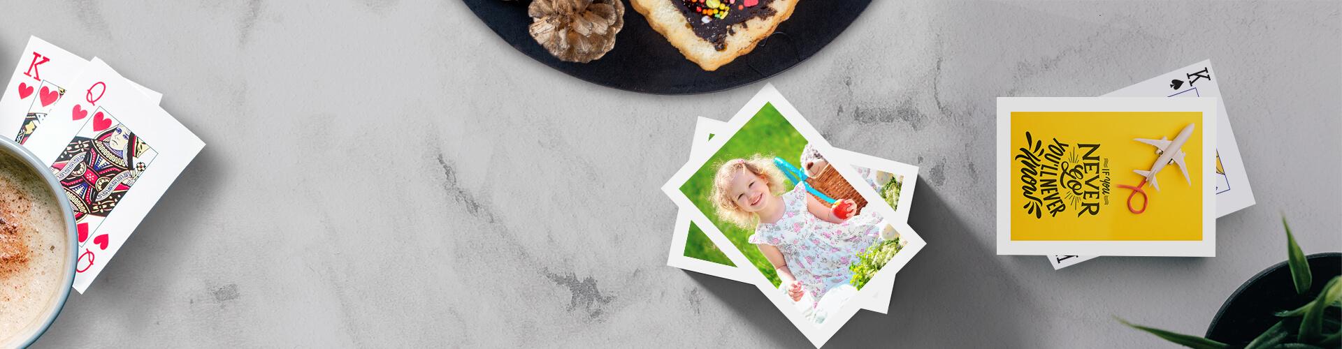 Customised Photo Playing Cards