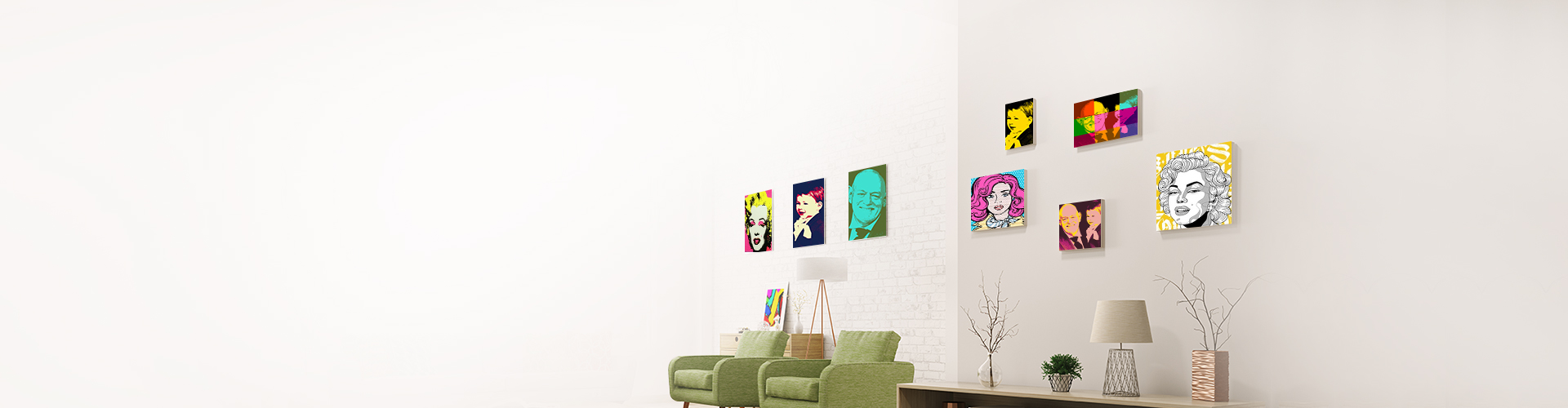 Pop Art on Canvas