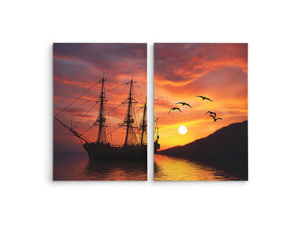 Diptych Canvas Prints