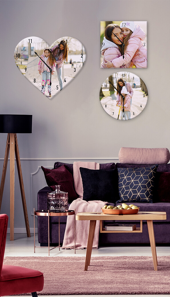 Amazing Personalized Wall Clocks from CanvasChamp